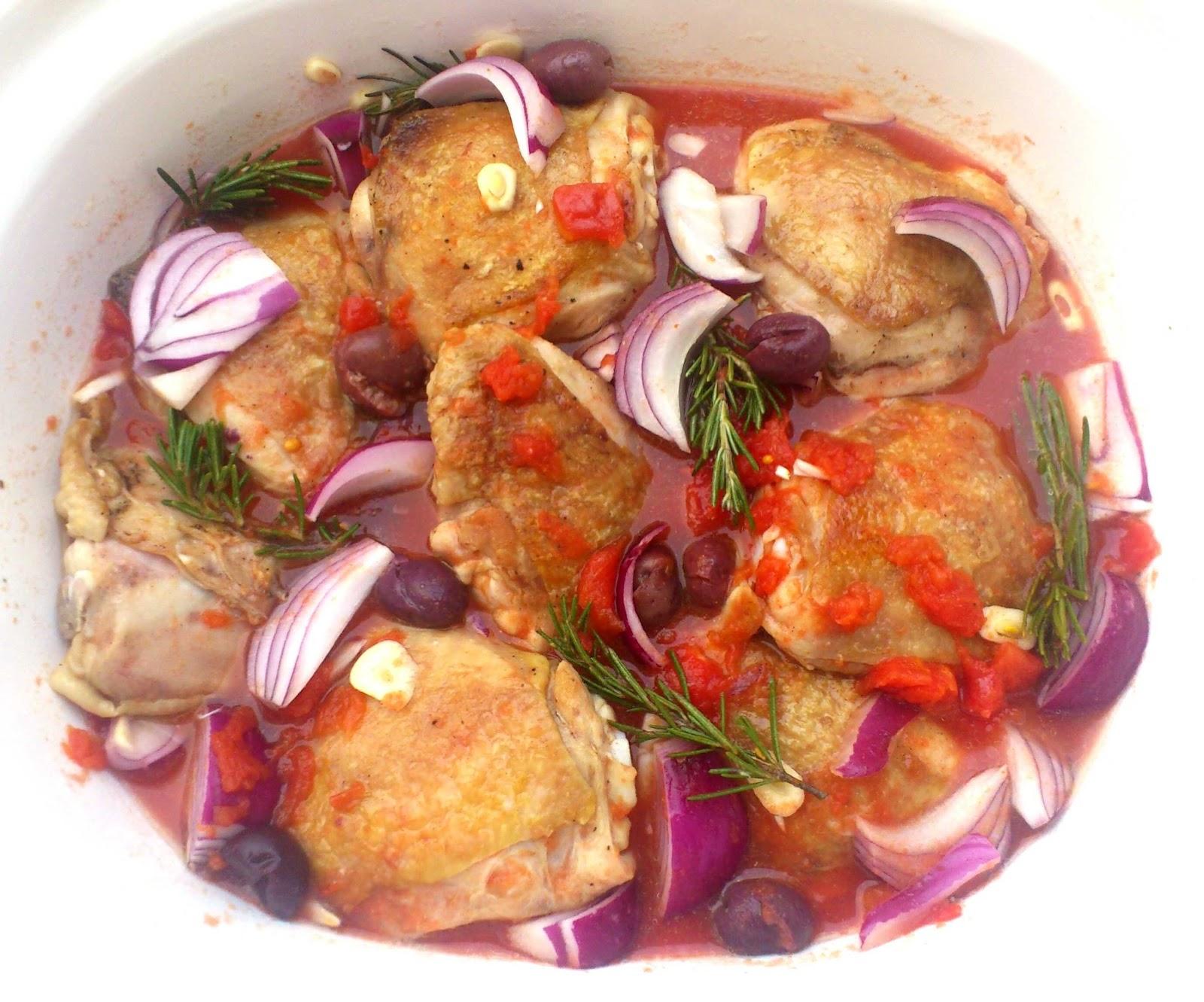 UndomestiKATEd: Mediterranean Chicken Casserole