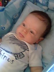 Samuel com três meses