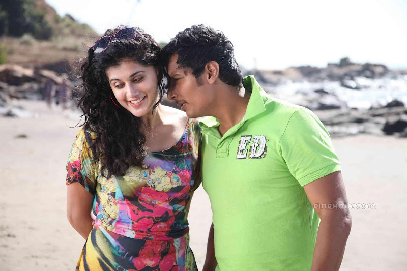 Jeeva and Tapsee Vandhan Vendran Movie Stills glamour images