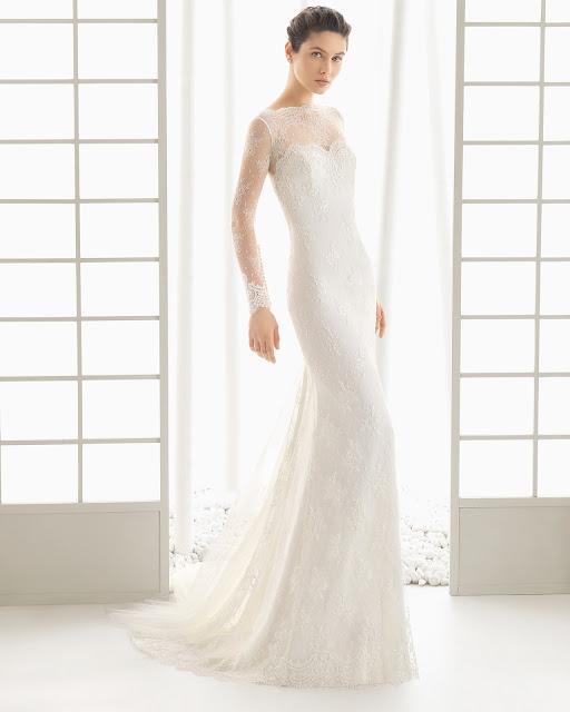 Rosa Clara 2016 modelo Dorian - vestido novia manga larga - Blog de Bodas