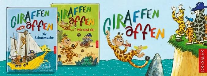 Die Giraffenaffen sind da!