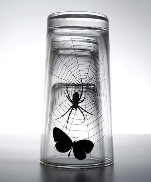 Vasos de diseño original creativo