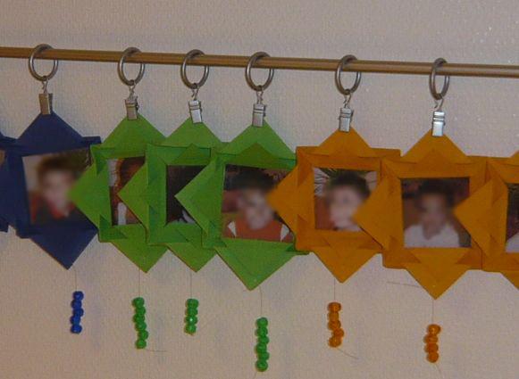 Mamamisas welt geburtstagskalender nach montessori - Fensterdeko im kindergarten ...