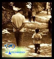 padre-hijo-caso clinico-psicoterapia