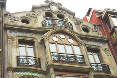 Gijón, Modernismo, edificio calle Corrida 35