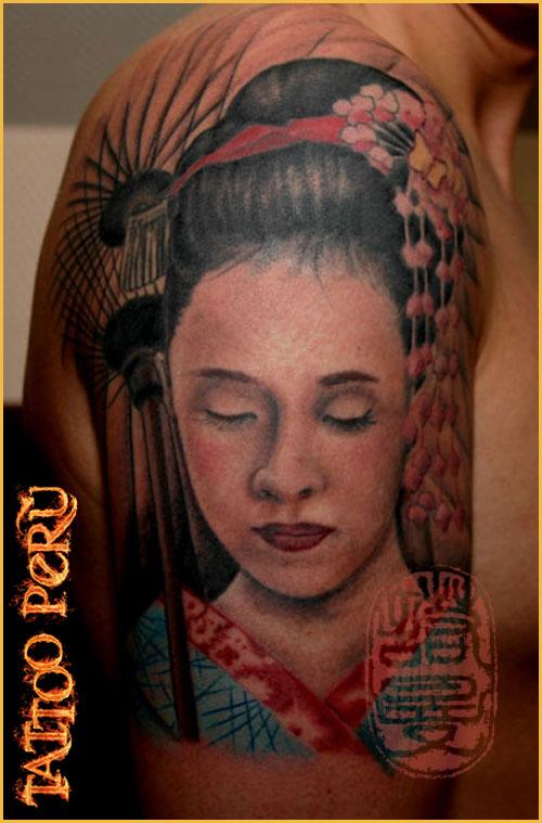 Fotos de tatuajes los mejores tatuadores estan en - Tattoos geishas japonesas ...