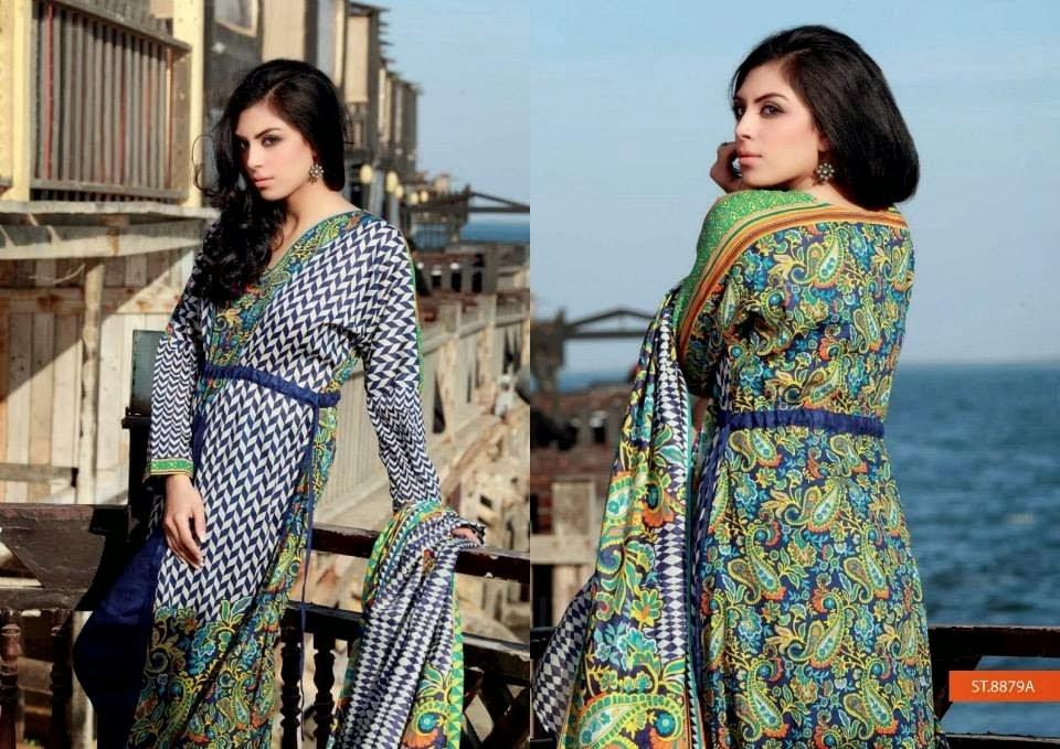 Libas Summer Lawn By Shariq Textile