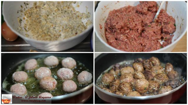 Cocinar Albondigas Caseras | Lazy Blog Albondigas Caseras Con Salsa Barbacoa Y Miel