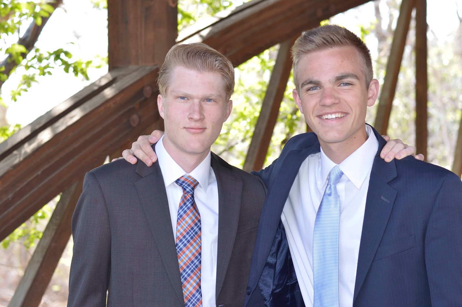 Elder Northrup and Elder Thayne