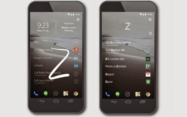 Z Launcher de Nokia