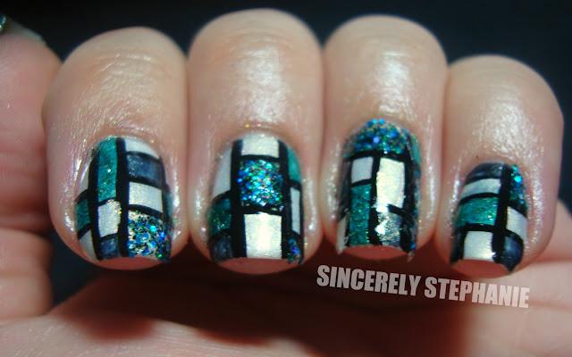 colour-blocking-nail-art