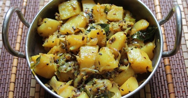 ... Potatoes / Aloo Panch Phoron / Potatoes with Bengali Five Spice Mix