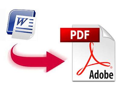الحلقة 14 : ابسط طريقة لتحويل ملفات Word الى PDF