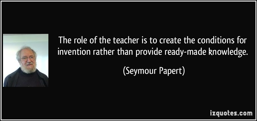 use own knowledge of the learners and curriculum to contribute to the teacher s planning Children contribute their own ideas and are  • are the materials for children's use appropriate does the curriculum  teacher planning and child.