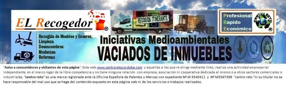 RECOGIDA DE MUEBLES Y ENSERES CORDOBA