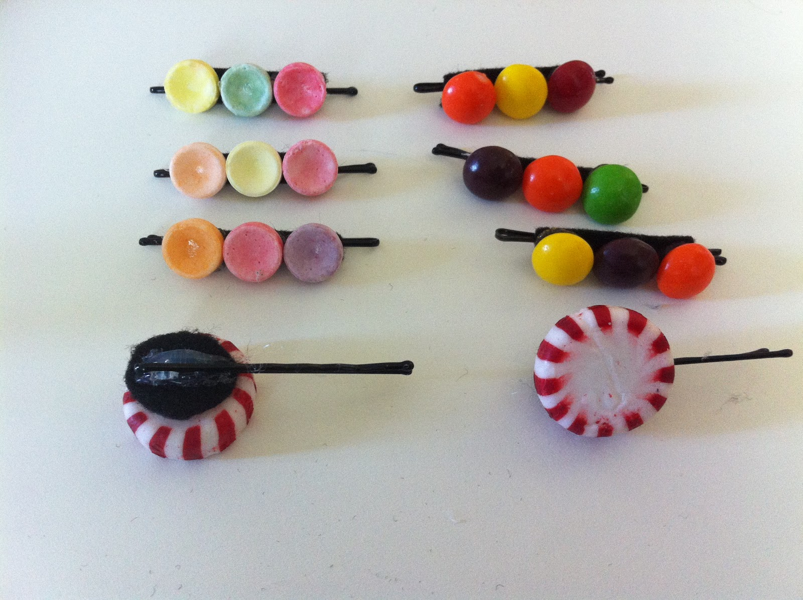 Candy Hair Clips