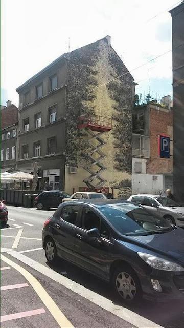 Street Art By Miron Milic For The MUU Street Art Festival In Zagreb, Croatia. 3