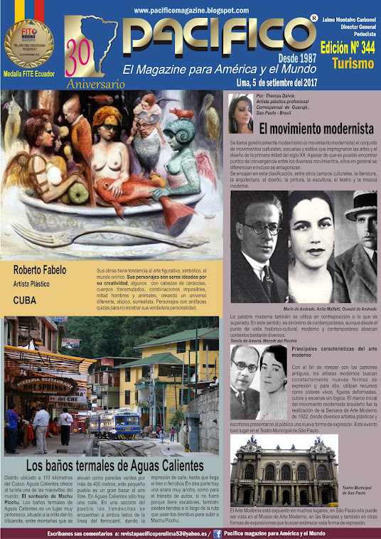 Revista Pacífico Nº 344 Turismo