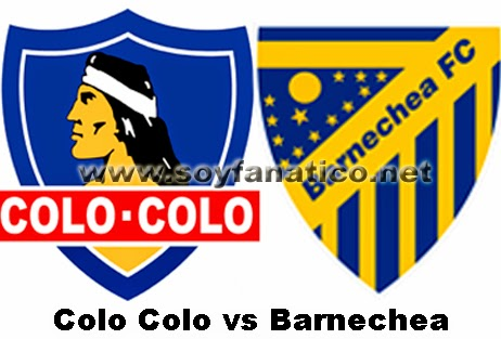 Colo Colo vs Barnechea 2014