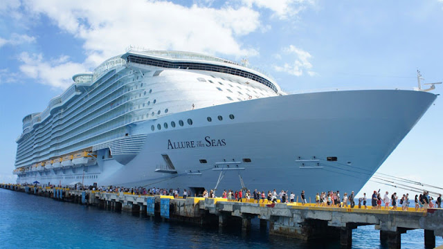 Dentro del Allure of the Seas. Lo que no se ve