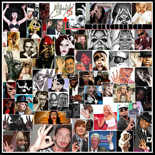 Illuminati Hand Signs 666