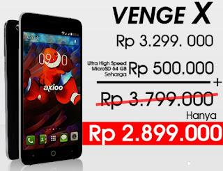 Axioo Venge X LTE Smartphone Android 5.5 inch Harga Rp 2 Jutaan (Promo Sampai 7 Desember 2015)