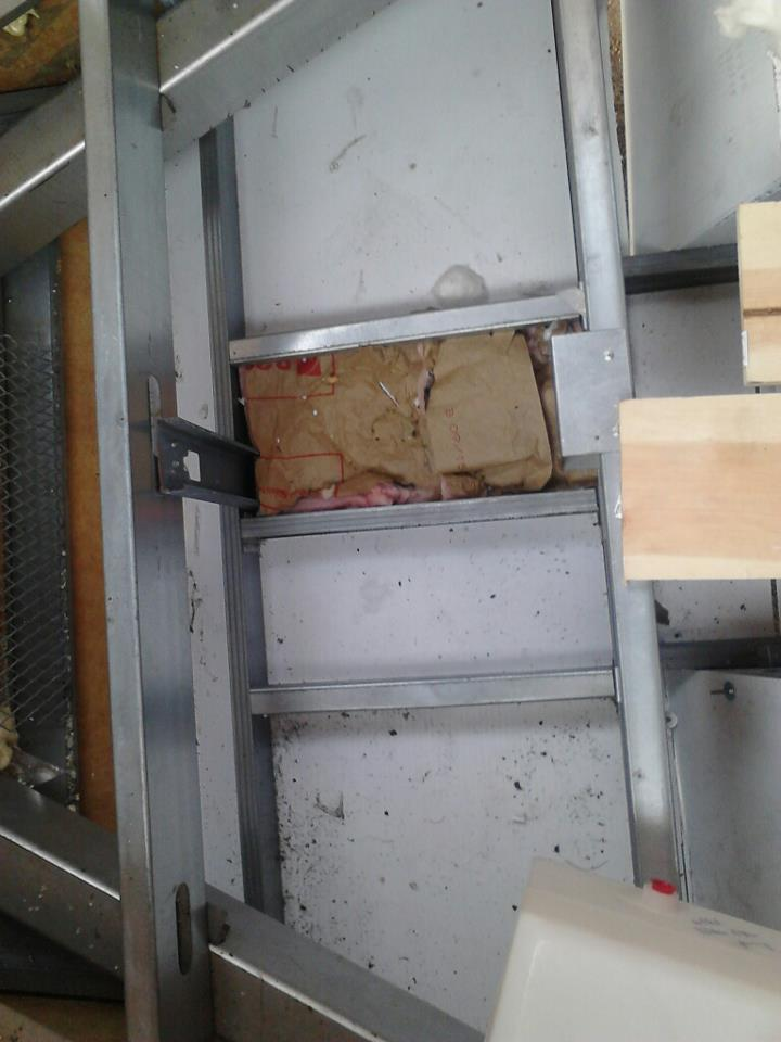 powered travel trailer from the ground up trimming out the basement