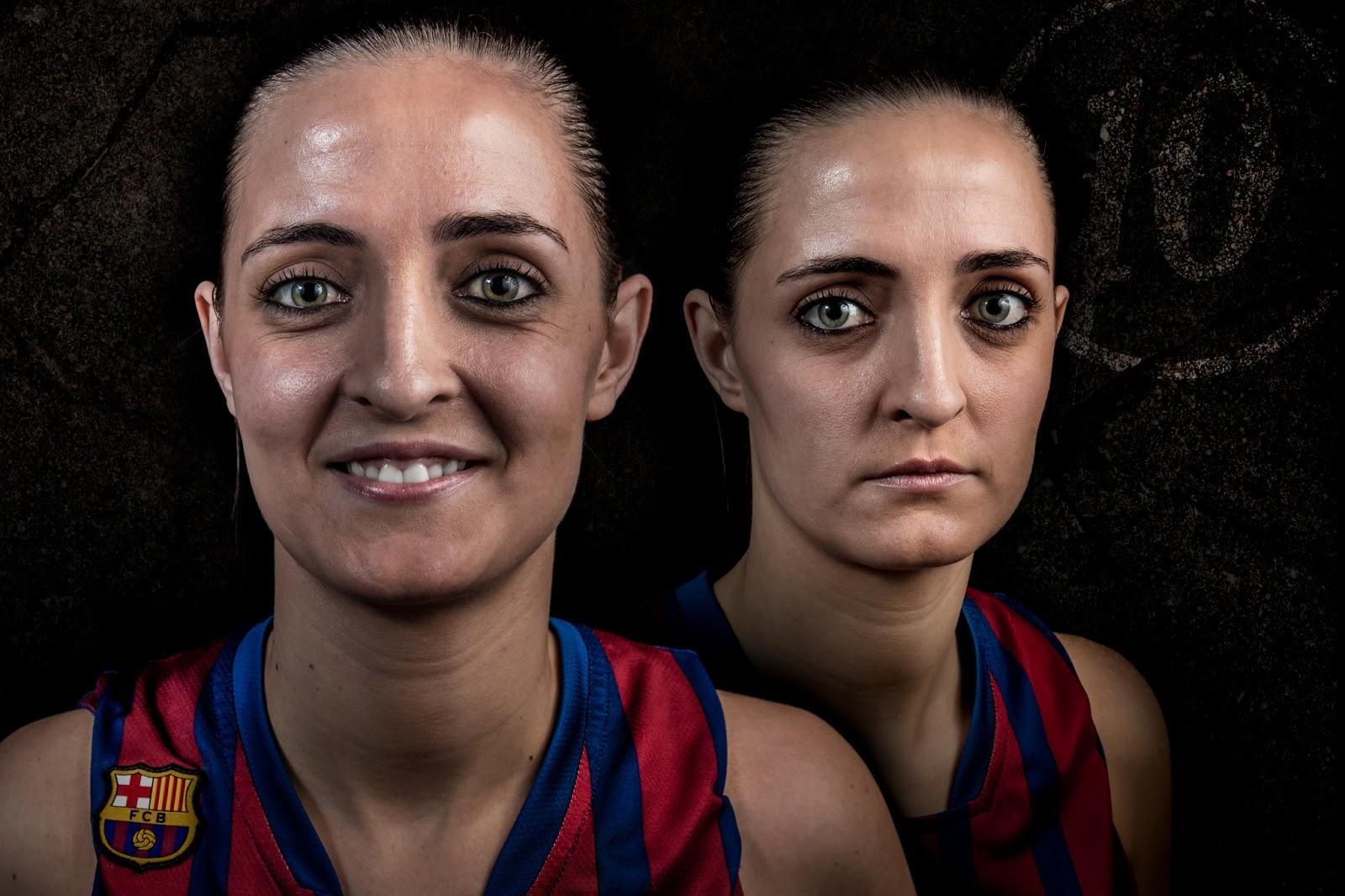 Naiara 10 - CBS Barça Senior Femenino A - 2013 :: 2 x Canon EOS 5D MkIII | ISO100 | Canon 24-105 @55&60mm | f/11 | 1/60s