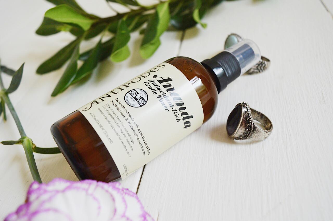 Antipodes Ananda Antioxidant Toner review, beauty bloggers, FashionFake, organic skincare