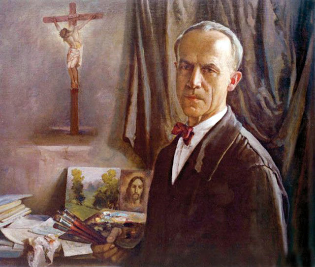 Gabrijel Jurkić, Portraits of Painters, self Portraits