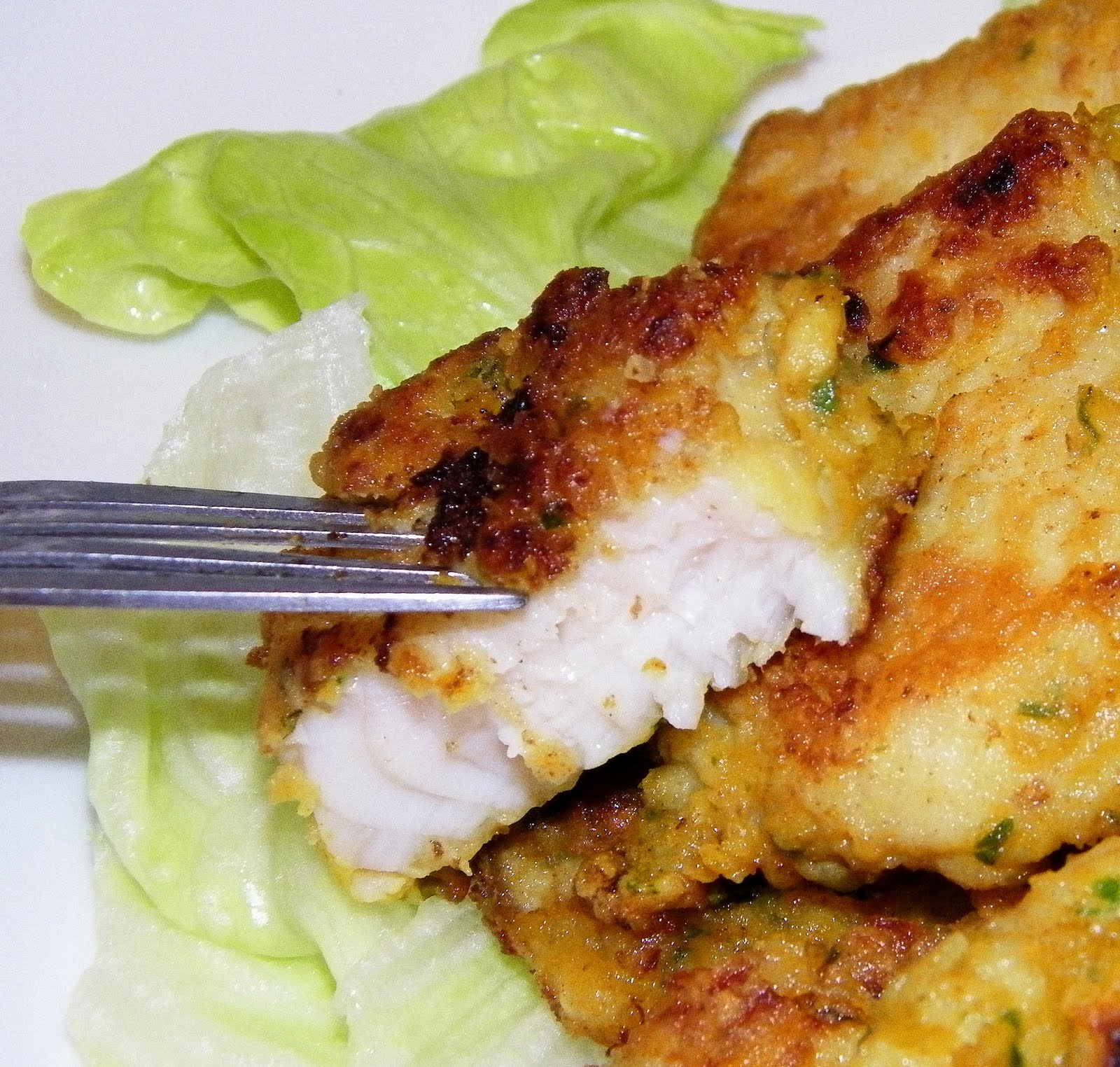 Little bellevue kitchen pan fried thai spiced fish fillet for Frying fish recipes