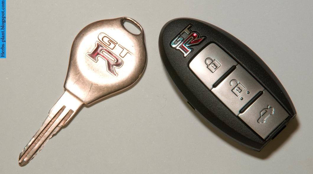Nissan GT-R car 2013 key - صور مفاتيح سيارة نيسان جي تي ار 2013