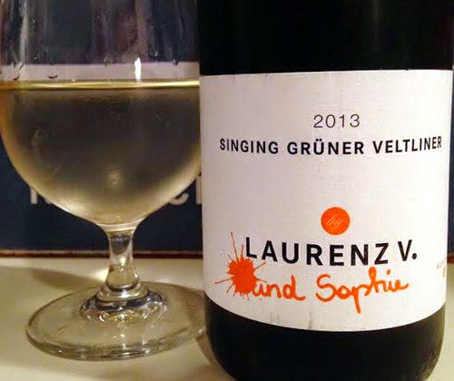 Laurenz V. und Sophie Singing Gruner Veltliner