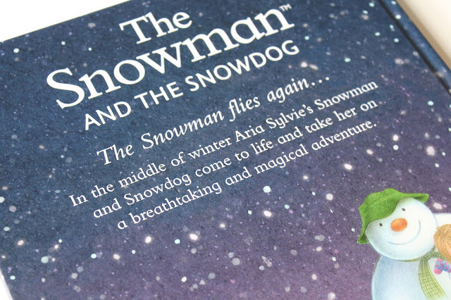 back cover of personalised The Snowman and the Snowdog book from Pen Wizard
