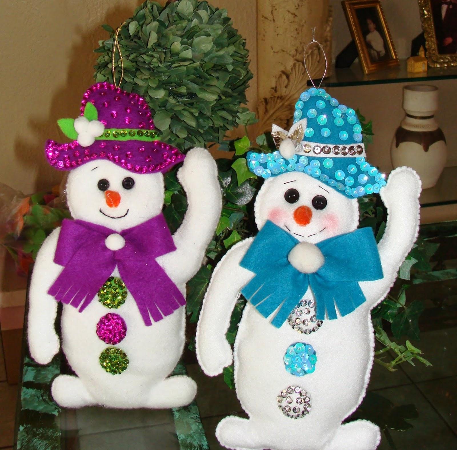 imagenes de pequeños muñecos de navidad