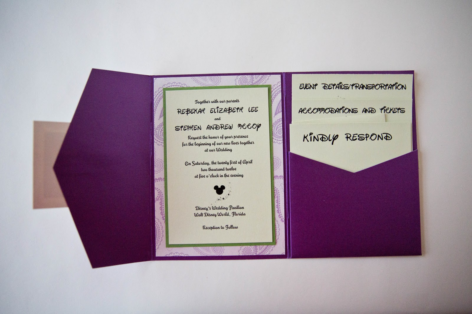 Invitation Disney • Invitation Mickey Mouse - Kindly RSVP Designs