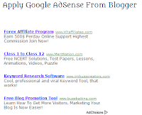 Adsense, Blogging Tips