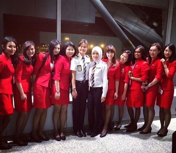 Biodata Kapten Noor Hafizah Mohd Idrus Pilot AirAsia Wanita