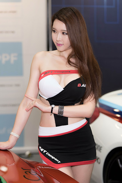 3 Yu Ri An - Seoul Auto Salon - very cute asian girl-girlcute4u.blogspot.com