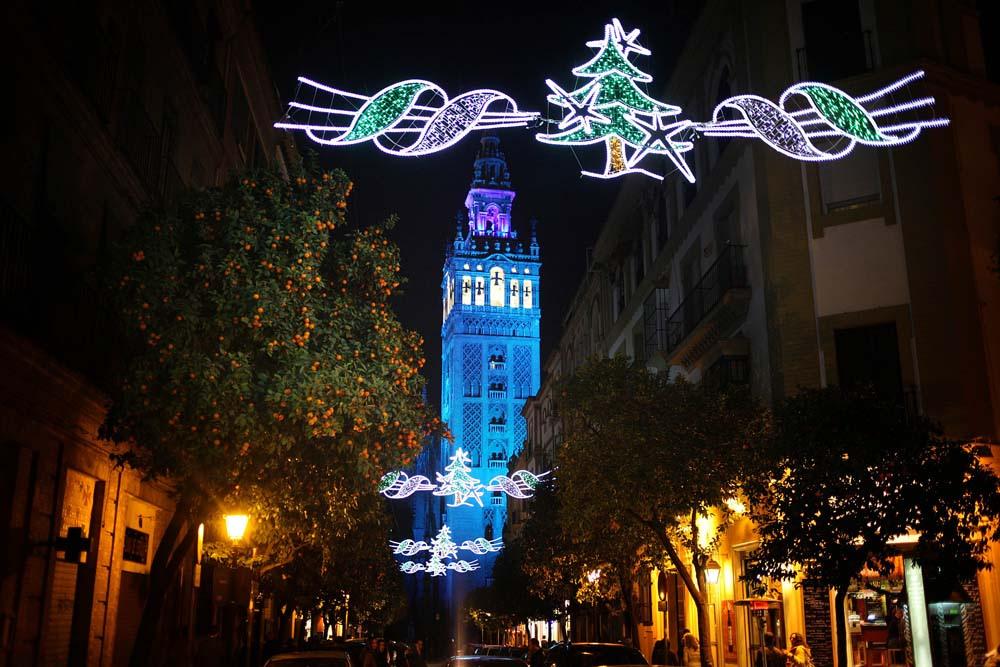 La Giralda nos ofrecerá una estampa entrañable durante las vacaciones de Navidad