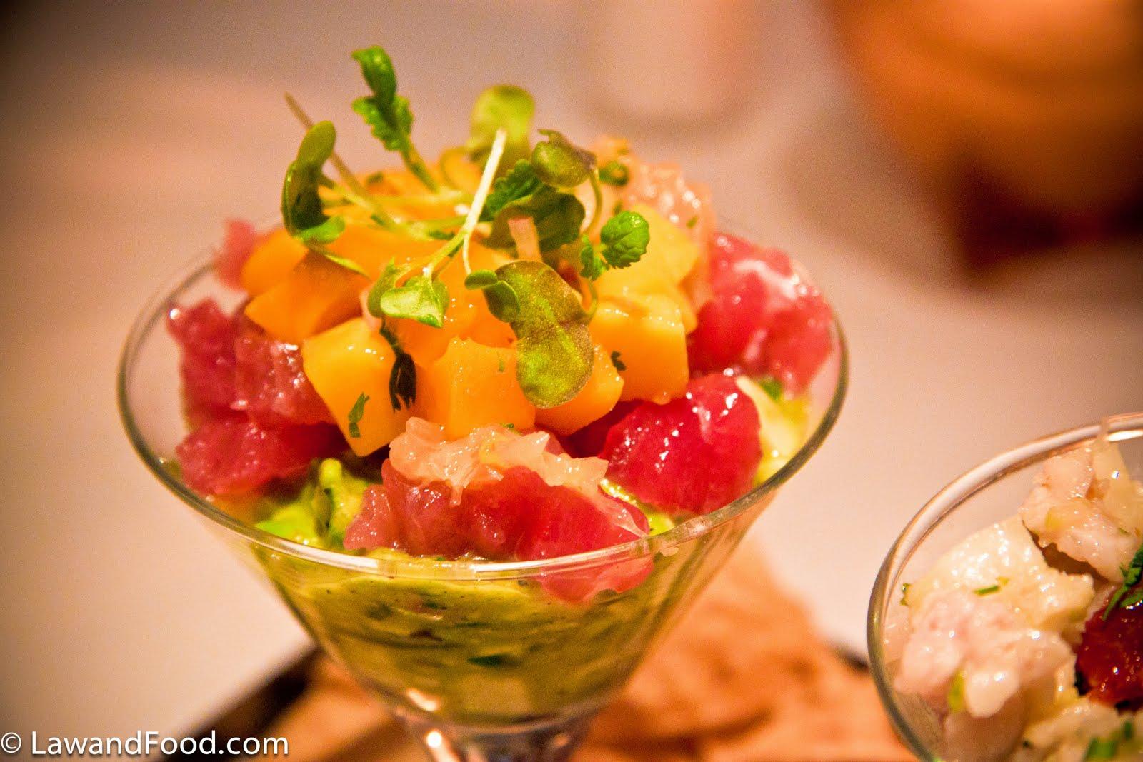 recipe: tuna mango ceviche [24]