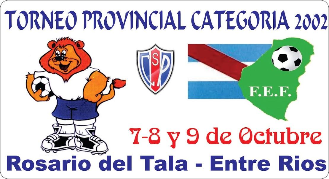 TORNEO PROVINCIAL CATEGORIA 2002 ROSARIO DEL TALA