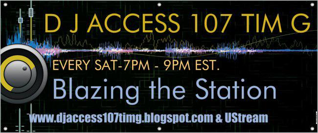 DJ ACCESS 107 TIM G TOTAL EXPERIENCE