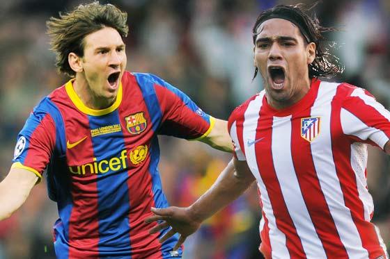 Latinos en Europa: Messi y Falcao ponen Europa a sus pies