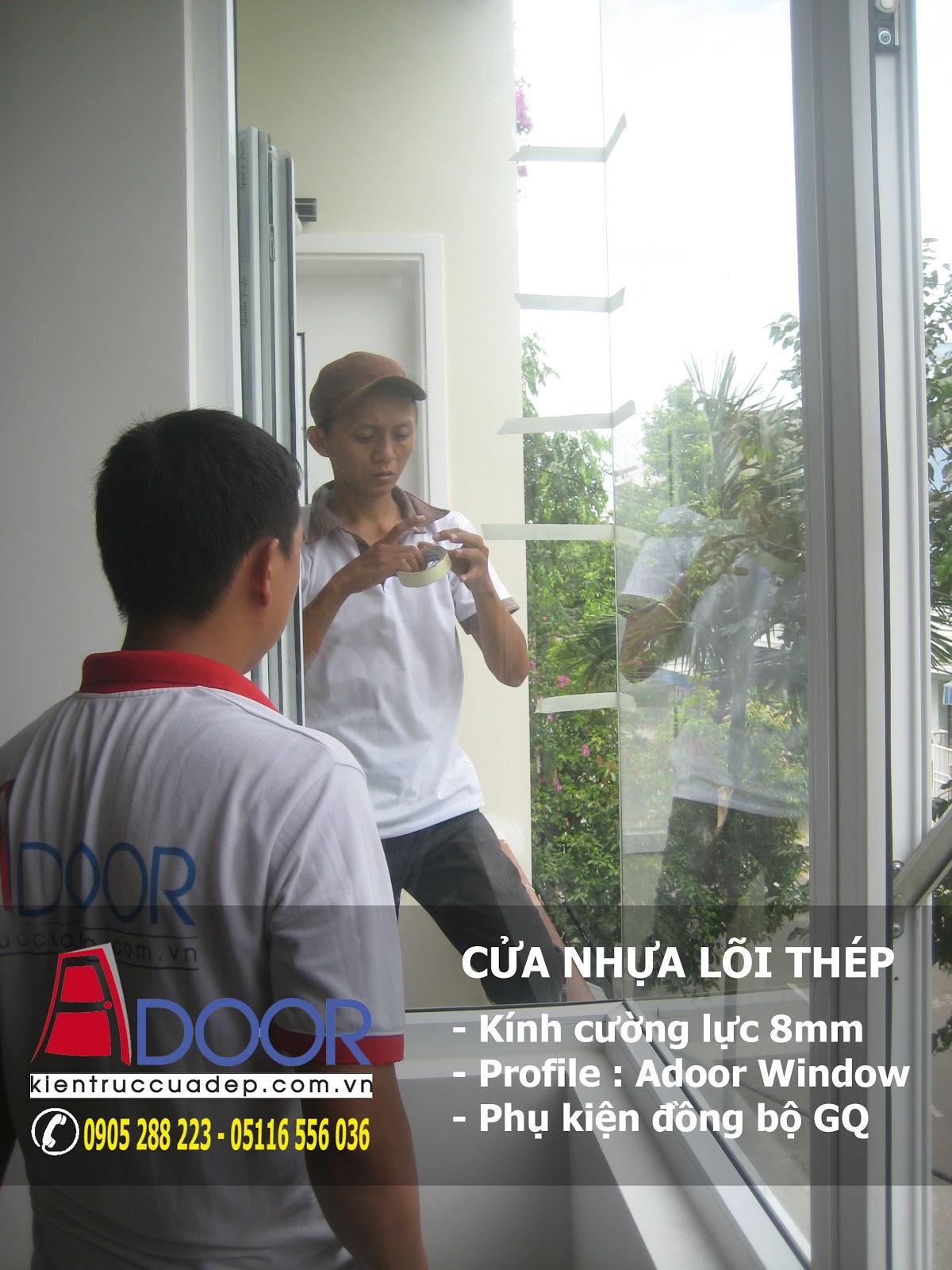 Cửa nhựa lõi thép tại Đà Nẵng, cua nhua loi thep tai da nang