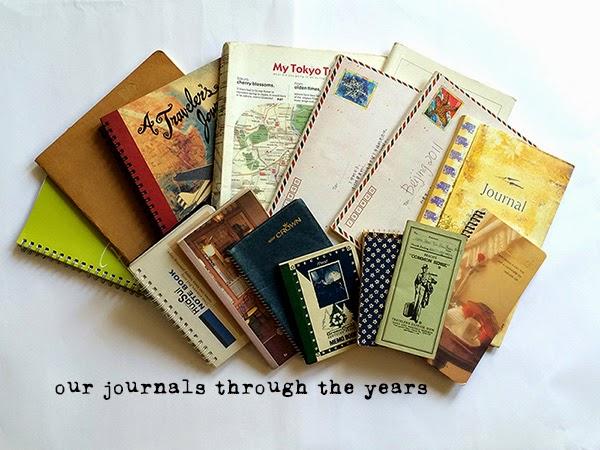 how we scrapbook travels