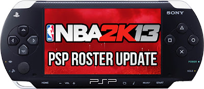 Download NBA 2K13 PSP Roster