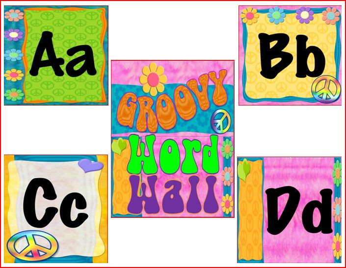 First Grade Classroom Word Wall http://seusstastic.blogspot.com/2011/08/peace-themed-word-wall-1st-grade-blog.html