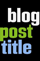 Displaying Post Title On the Your Blogs Titles | Sharing SEO