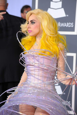 Lady Gaga Yellow Hair
